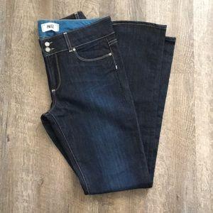 Paige - Hidden Hills Straight Jeans Dark Wash